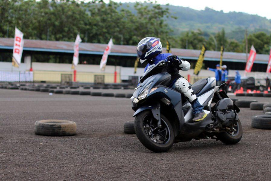 Fun Riding Aerox 155 di Sunday Race seri Perdana, Menjadi Magnet Pecinta Matik Sporty