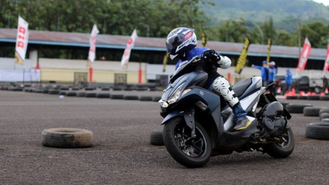 Fun Riding Aerox 155 di Sunday Race