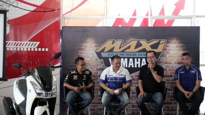Alfa Scorpii Medan Resmi Launching Yamaha Lexi
