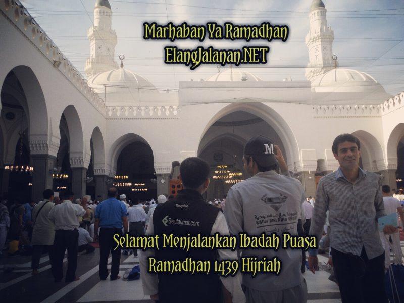 Elang Jalanan Mengucapkan Selamat Menjalankan Ibadah Puasa Ramadhan 1439H