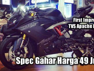 First Impression TVS Apache RR 310