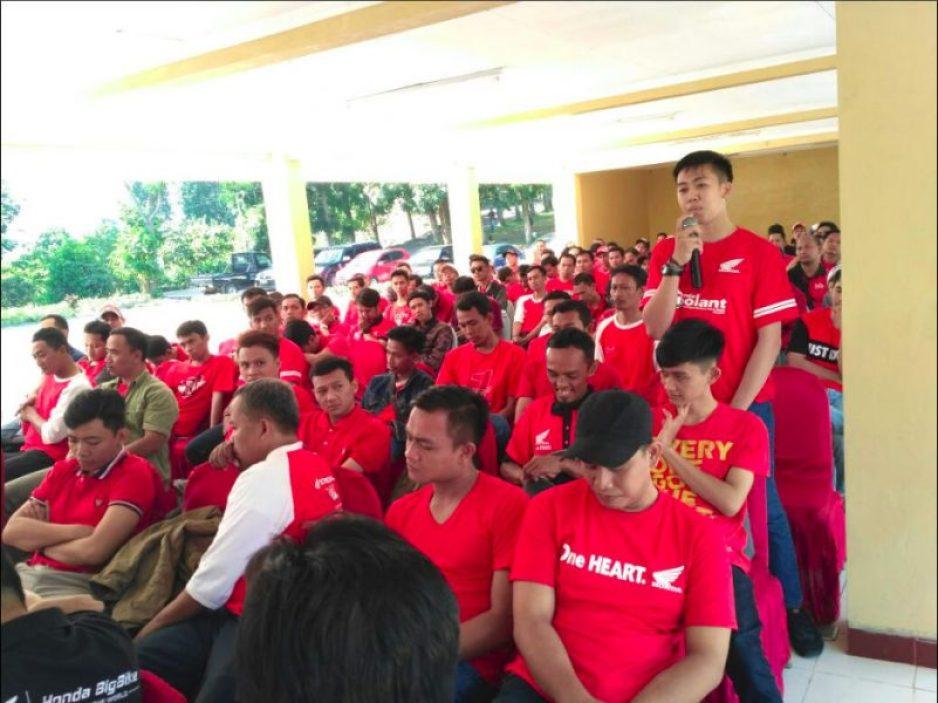 Gathering Service Advisor Wahana 2018