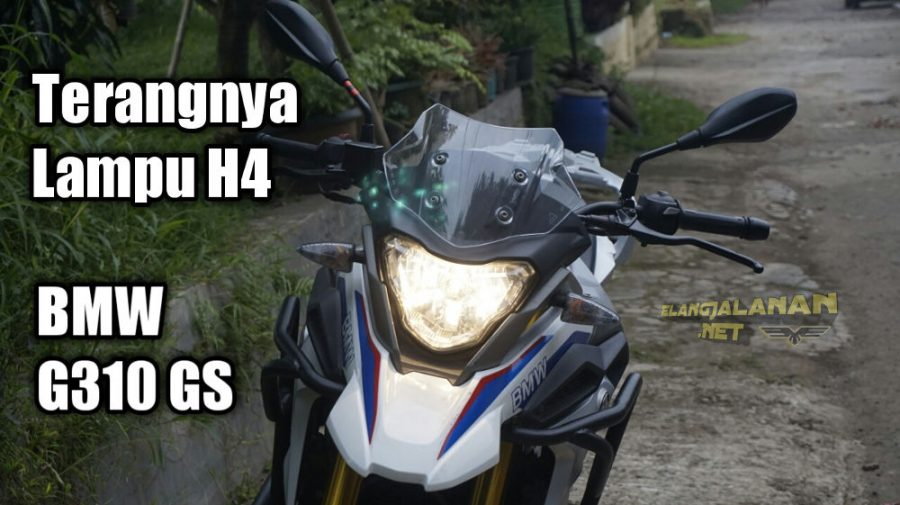 Review Lampu H4 BMW G310 GS