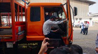 keberangkatan truk mudik bareng honda 2018