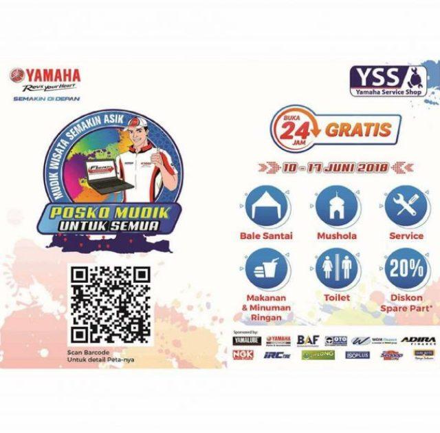 Pos Jaga Yamaha Lebaran 2018