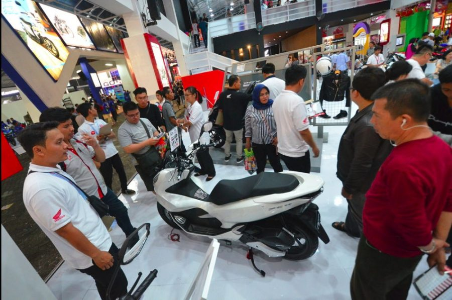 All New Honda PCX Terjual 648 unit