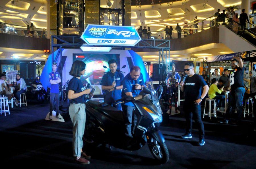 Eksebisi MAXI Yamaha & Sport Expo di 16 Kota, Masyarakat Makin Menyukai MAXI Yamaha