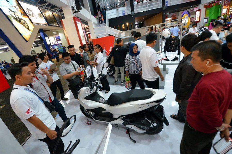 Total 6.300 unit Motor Honda Terjual selama Jakarta Fair 2018, PCX Paling Laris