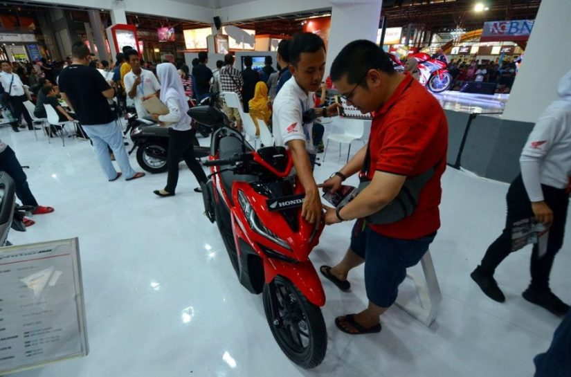 6.300 unit Motor Honda Terjual selama Jakarta Fair 2018
