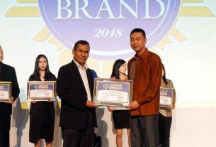 Tekiro kembali Sabet Top Brand Award 2018