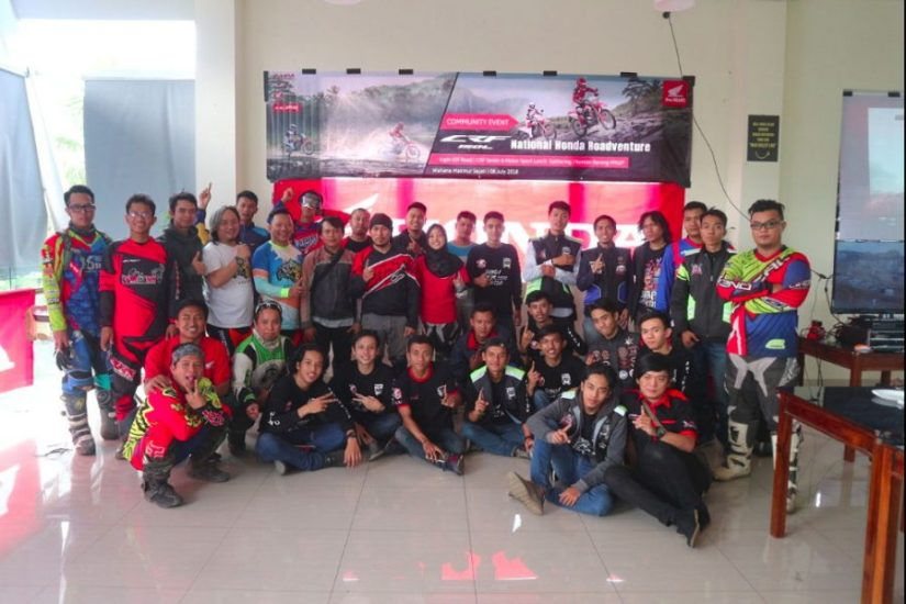 Wahana Gelar Honda Roadventure CRF150L