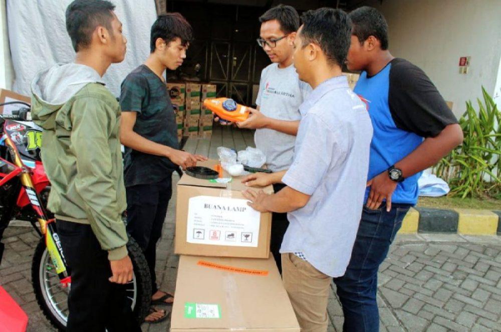 Wahana Berikan Bantuan Korban Gempa Lombok