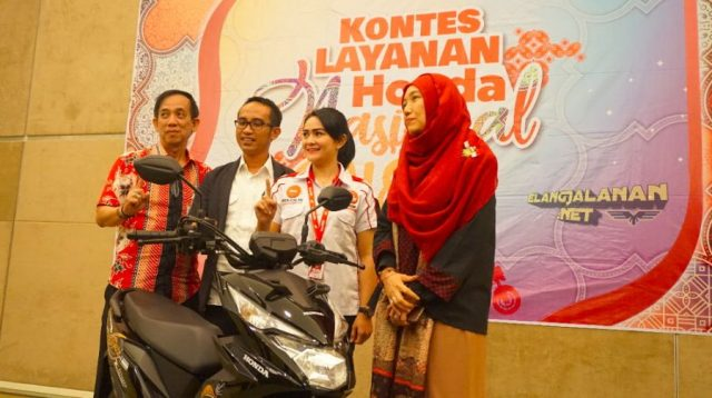 Kontes Layanan Honda Nasional 2018