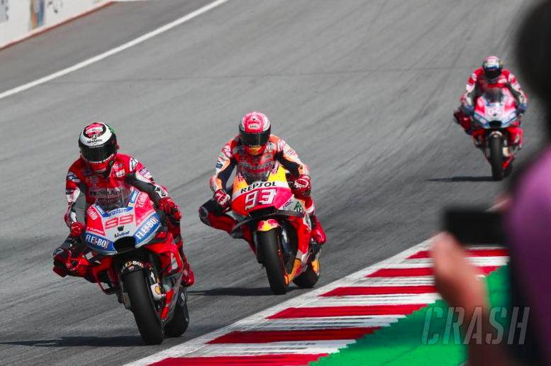 Download Video Full Race MotoGP Austria 2018, Lorenzo kembali kalahkan Marquez!
