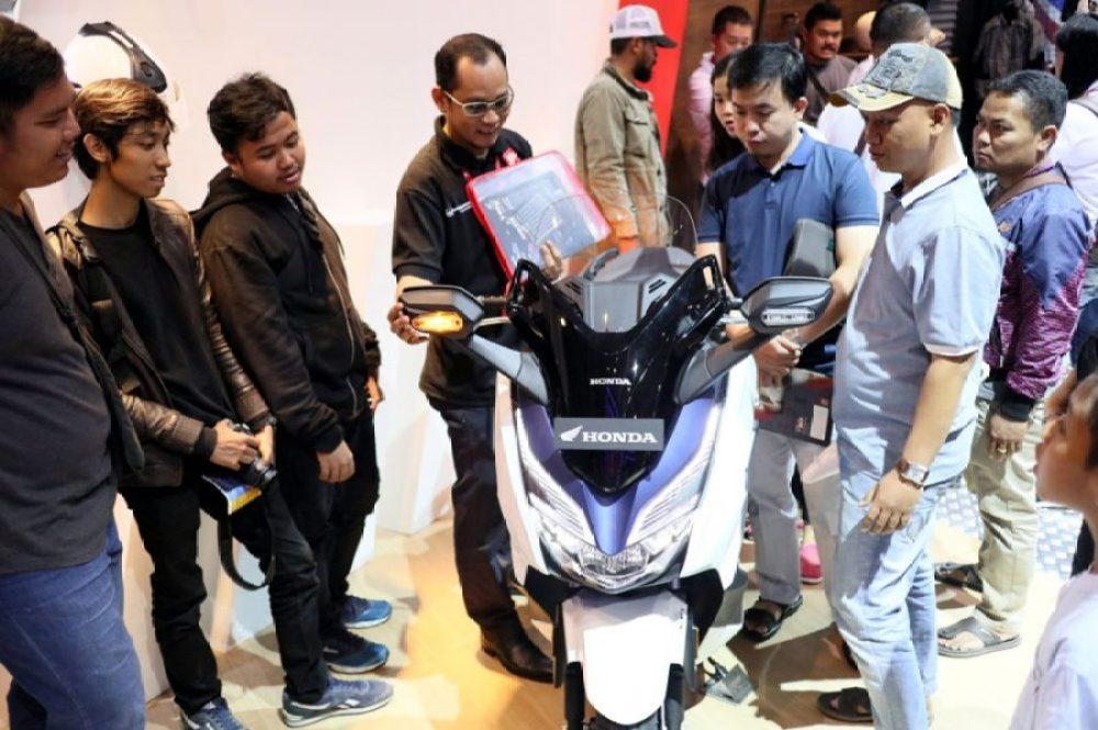 1000 Motor Honda Terjual selama GIIAS 2018