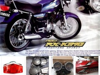 Spare Part RX-King Stop Produksi