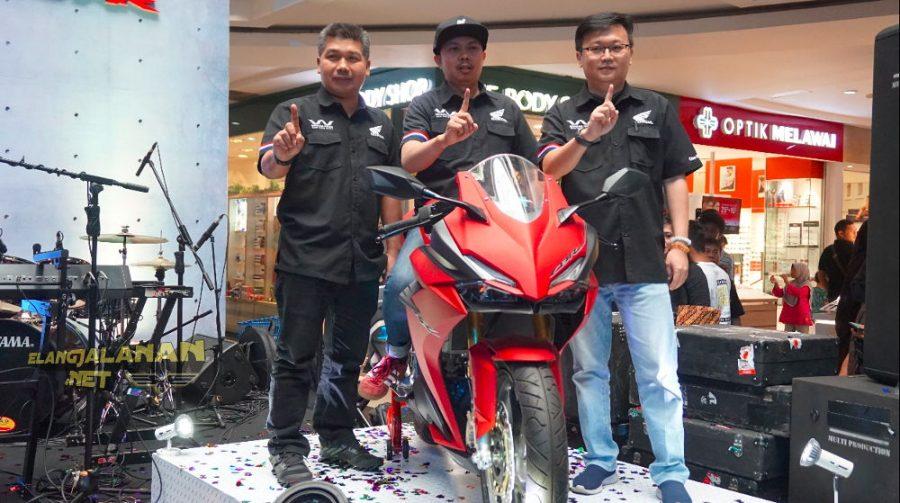 New Honda CBR250RR series sudah mulai terdistribusi di Jakarta Tangerang, Target 100 unit per bulan