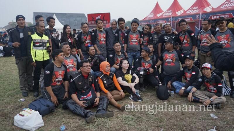 Honda Bikers Day 2018 Regional Palembang, 2500 Bikers Sumatera Kopdar Penuhi Jakabaring