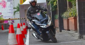 New Honda PCX series Laris