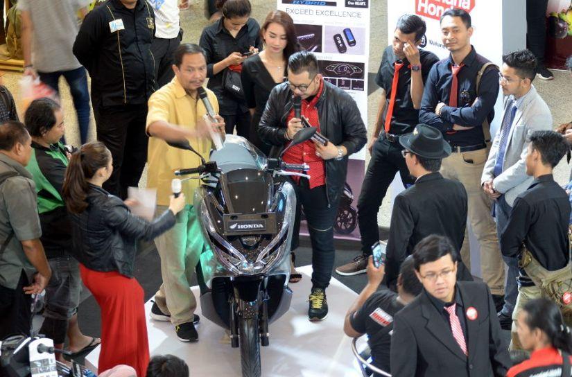New Honda PCX series Laris
