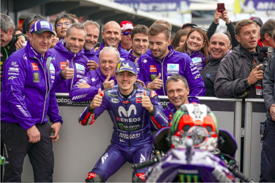 Download Video Full Race MotoGP Australia 2018, Yamaha Pecah Telor lewat Maverick Vinales