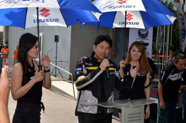 Etape Pertama Touring Suzuki GSX150 Bandit