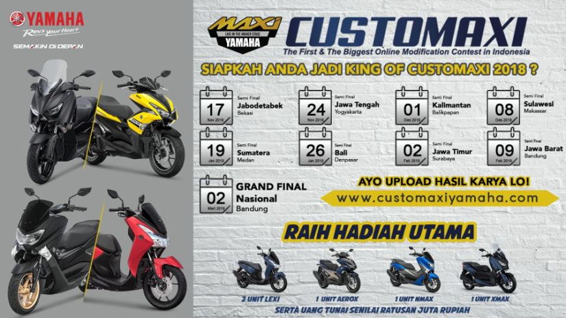 CustoMAXI Yamaha 2018