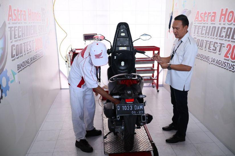 Honda Asia-Oceania Motorcycle Technician Skill