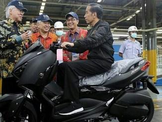 Pelepasan 1.5 Juta unit Ekspor Motor Yamaha