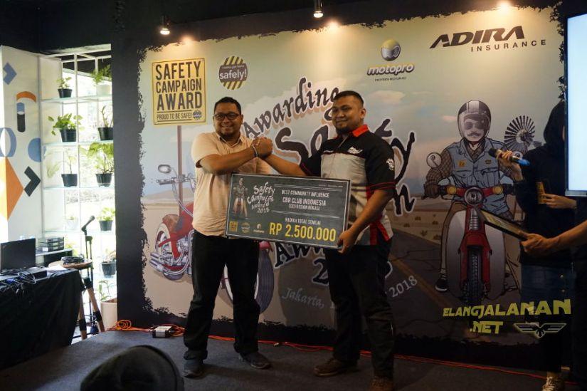 Pemenang Safety Campaign Award 2018