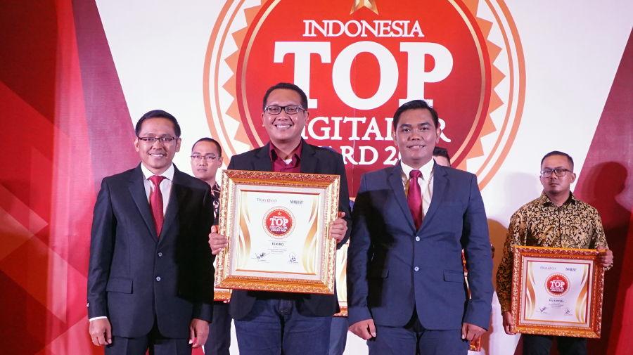 Gandeng Blogger Setahun Terakhir, Tekiro Raih Top Digital Public Relation Award 2019