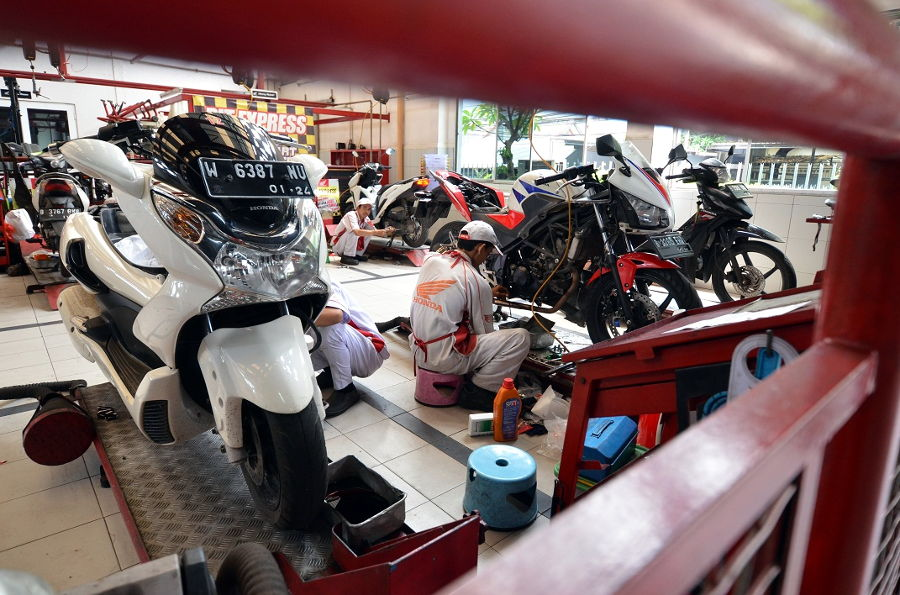 Selama 2018, 5 juta Motor Honda Service di AHASS Wahana Jakarta Tangerang