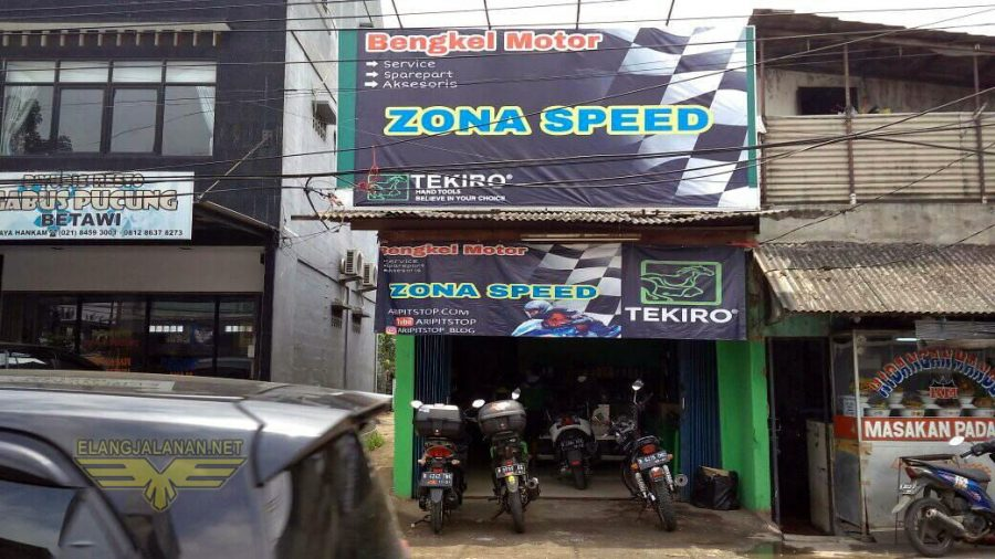 Zonaspeed Bengkel Motor Rekomendasi Baru di Bekasi