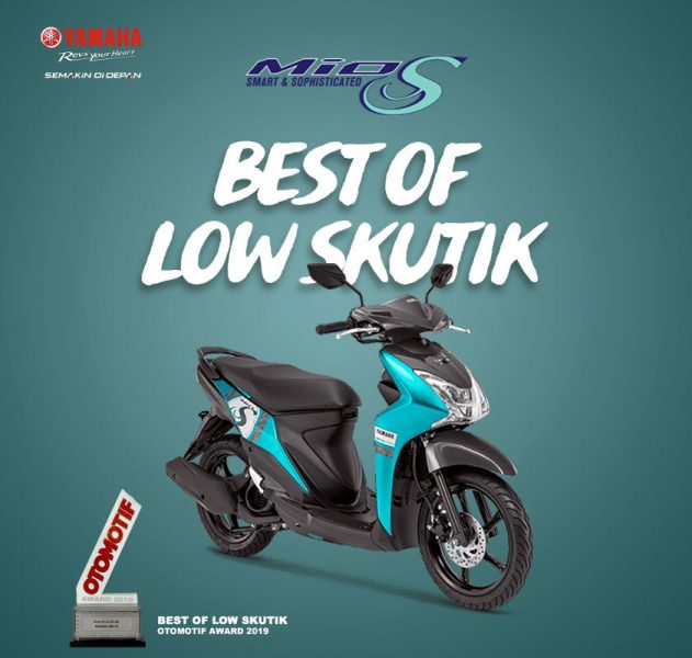 Yamaha Mio S Raih Predikat Best of Low Skutik 2019