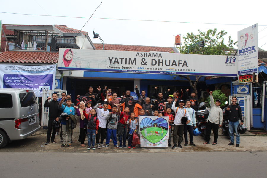 Agenda Gorong Jeram Wisatapanti: Touring Bareng Anak Yatim