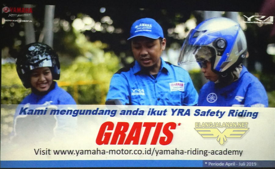 Safety Riding YRA dibuka Online