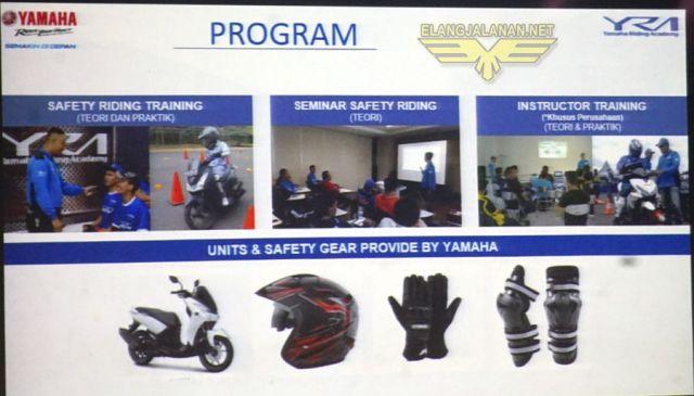 Safety Riding YRA dibuka Online