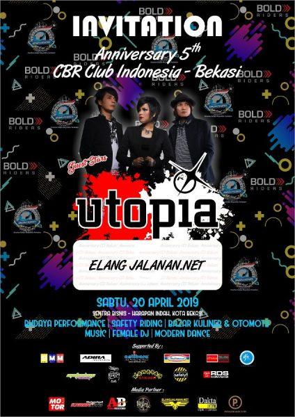 5th CBR CLUB INDONESIA Region Bekasi