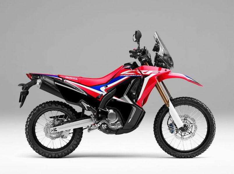 Warna Baru Honda CRF250RALLY
