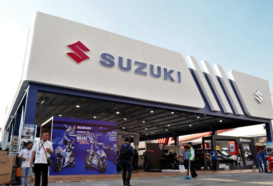 Booth Suzuki di PRJ 2019