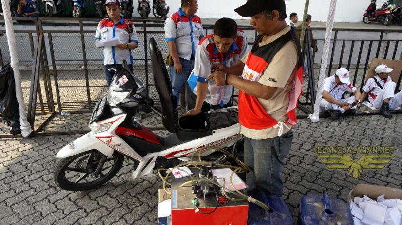 1120 Motor Peserta Mudik