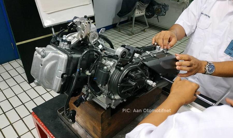 Mesin Honda Genio 110