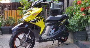 Suzuki NEX II Cross Aura Yellow