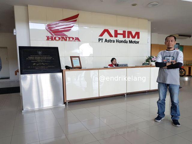 Visit Plant 3 AHM Cikarang