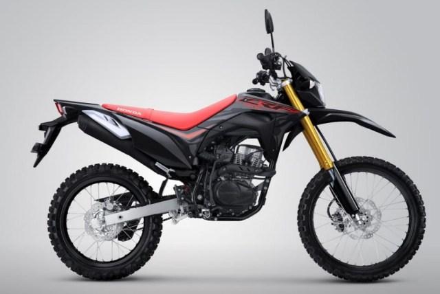 New Honda CRF150L Extreme Black