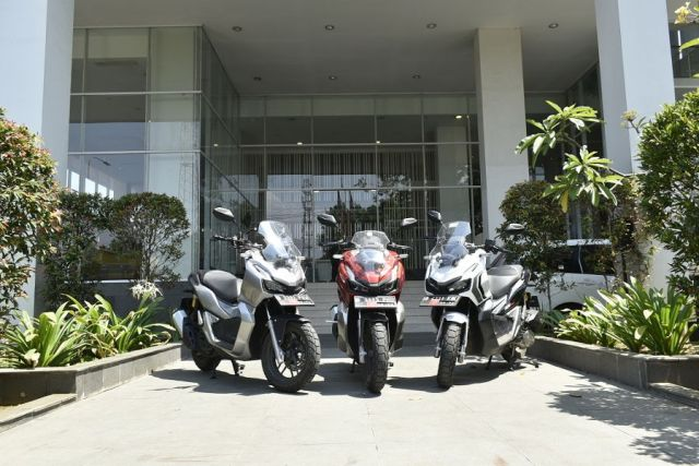 Fun Rally Honda ADV 150 Finish Pekalongan