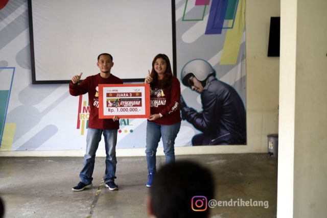 Juara Gymkhana Battle Blogger