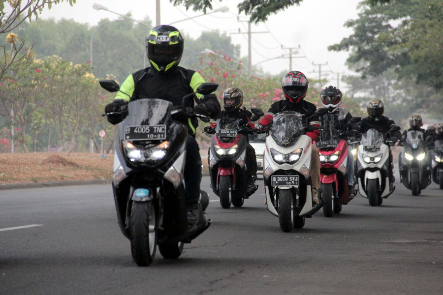 Touring Maxi Yamaha ala Jurnalis