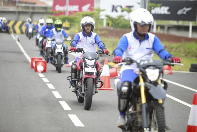 DAM Gelar Pelatihan Safety Riding
