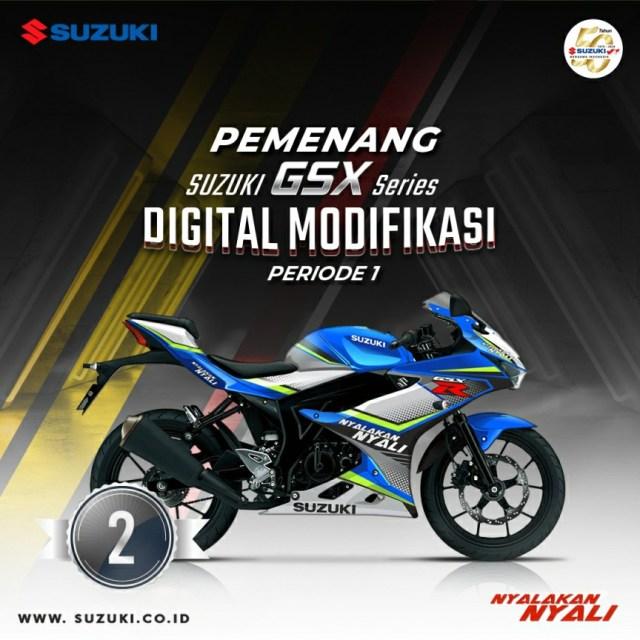 Suzuki GSX DM Periode 1